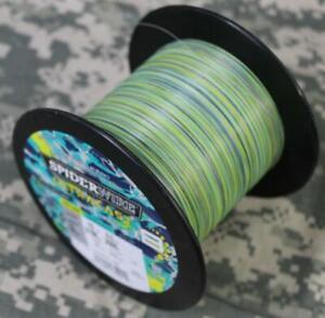 Spiderwire Ultracast x8 Braided Fish Line 10# Test 2188 Yds HiViz Aqua Camo NEW!