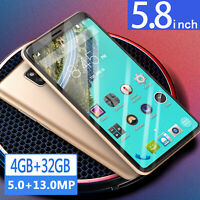 M20 Pro 5.8'' Unlocked Smart Phone Android 6.0 4G+32G Mobile Octa Core Dual SIM
