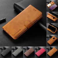 For Samsung Note 20 Ultra S21 Plus S10E Case Flip Magnetic Leather Wallet Cover
