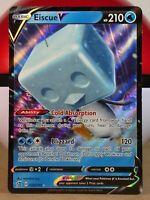 Eiscue V  55/192 S&S: Rebel Clash  Ultra Rare  Mint/NM Pokemon