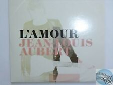 JEAN LOUIS AUBERT L'AMOUR CD PROMO telephone