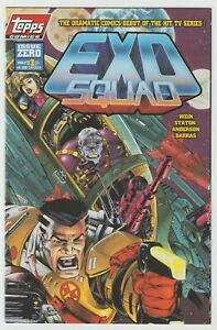 Exosquad (1994) #0 - Len Wein - Michael Golden Wraparound Cover - Topps