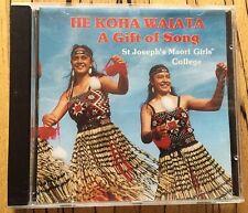 CD - Maori girls college St Joseph's  - HE KOHA WAIATA - a gift of song