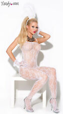 One Size Fits Most Womens Lace Bridal Bodystocking