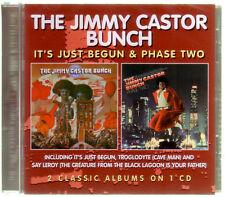 CD (NEU!) . JIMMY CASTOR BUNCH - It's just begun & Phase Two (Troglodyte mkmbh