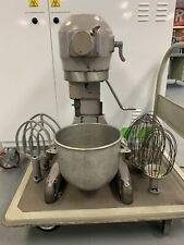Hobart A200 20Qt. Mixer w/ 12 Qt. Bowl, 2 Flat Paddle Beaters, & 2 Wire Whips