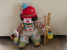 Hand Knitted Clown/Mascot/Present for DIY er - Jean Greenhowe - Sidney Slapstick
