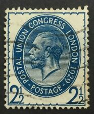 GB GV 2 1/2d blue 1929 UPU Congress, SG 437, used, well centred