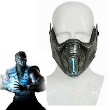 Xcoser Mortal Kombat Mask  Sub Zero Mask With LED Cosplay Costume Comic Props