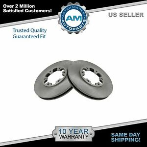 Front Disc Brake Rotor Pair For QX4 Nissan Frontier Xterra Pathfinder