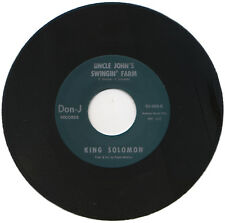 "KING SOLOMON  ""UNCLE JOHN'S SWINGIN' FARM""   KILLER R&B MOVER"