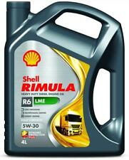 4 Liter SHELL 5W-30 Rimula R6 LME ACEA E6, ACEA E7 MB 228.51, Renault RLD-2