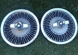 1960's Buick Wire Wheel Covers w/ Spinners Skylark GS 14 Inch Wheels Knock Off!