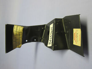 Fiat Bertone X1/9 right headlight motor mounting bracket and joining panel