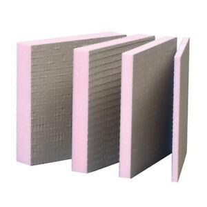 18,7m² Bauplatte 10mm Hartschaum Ausgleichsplatte Montage Sanitär Fliesen Platte