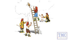 A1882 Woodland Scenics OO Gauge Firemen To The Rescue