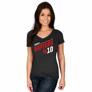 DeMar DeRozan Toronto Raptors #10 NBA Women's Solid Recruit Player T-Shirt