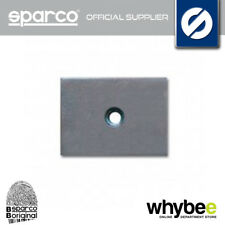 04502 SPARCO REINFORCING PLATE FOR EYE HOOK TO FIX SEAT BELT HARNESS BELT IN CAR