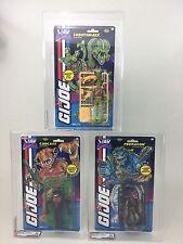 TEST SAMPLES - GI JOE 1994 Mexican/US Cards Lobotomaxx, Carcass, Predacon