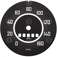 PORSCHE 356 pre a 1950 a 1952 Veigel Tachimetro Quadrante Faccia Adesivo