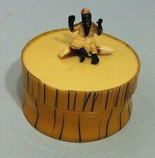 Antique 1920's celluloid trinket box