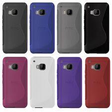 HTC One s9-S-Style S-line TPU funda protectora protección, funda, estuche funda bolsa