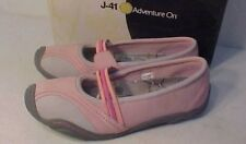 NEW IN BOX J-41 Jeep Pink Sz 9.5M  Mary Jane Nubuck Leather Hiking Trail Shoe