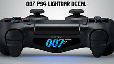 007 playstation ps4 controller light decal sticker vinyl james bond movie