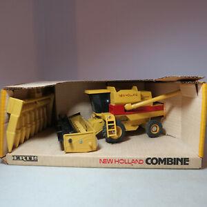 Ertl New Holland TR95 Combine Corn & Grain Heads 1/32 NH-375-10DO-B