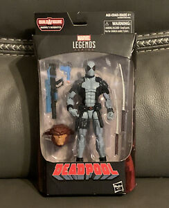 Hasbro Marvel Legends Series X-Force DEADPOOL Figure BAF Sasquatch