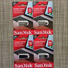 SanDisk ® Cruzer Force ™ 8GB/16GB/32GB/64GB USB Flash Drive de memoria USB2.0/3.0