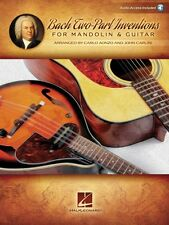 Bach Two-Part Inventions for Mandolin & Guitar Sheet Music and Audio 000125309