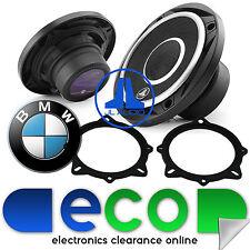"Bmw Serie 5 E60 C2 JL Audio 2 Vias 210 Watts 10cm 4 ""de puerta frontal altavoces del coche"