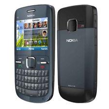 Tastiera Qwerty per Nokia C3-00 WiFi sbloccata Telefono cellulare originale Blu