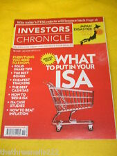 INVESTORS CHRONICLE - JAPAN DISASTER - MARCH 18 2011