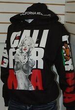 GET ng Men' Marilyn Monroe Pullover Sweater Hoodie,California Arms XL