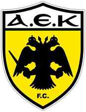 "AEK Athens Greece Football Soccer Car Bumper Sticker Decal 4""X5"""