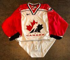 1998 Nagano Olympics Team Canada NIKE Authentic Vintage Hockey Jersey - Size 48