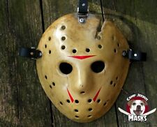 """Friday the 13th Part 8 (VIII) """"Film Accurate"""" Hand painted Jason Hockey Mask"""
