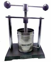 TOP QUALITY TINCTURE PRESS, Capacity 1ltr / 1000ml BRAND BEXCO FREE DHL SHIPPING