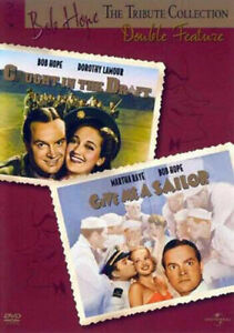 Caught in the Draft + Give Me a Sailor DVD Bob Hope Movie (DOUBLE) War Movies
