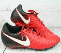 ~~Nike Tiempo Rio IV SG 897760-616 Red/White/Black UK 7.5 Mens Football Boots
