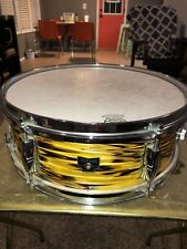 YAMAHA Snare Drum - Lemon Yellow Strata - Nippon Gakki Japan - Y Badge - #415