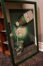 Mirror Bar Sign Tanqueray Special Dry Distilled English Gin near mint