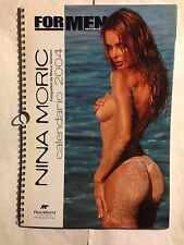 NINA MORIC  • Calendario 2004  • FOR MAN MAGAZINE