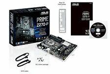 *NEW* ASUS PRIME Z270-P LGA1151 DDR4 HDMI DVI M.2 USB 3.0 Z270 ATX Motherboard