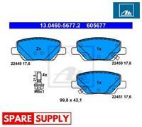 BRAKE PAD SET, DISC BRAKE FOR FIAT ATE 13.0460-5677.2