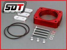 Billet 2005-2010 Ford Mustang 4.0L V6 High Red Performance Throttle Body Spacer