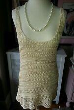 Diane von Furstenberg (DVF) knit / Beach Bikini Cover-Up - Sz. S, $165.00 - NWOT