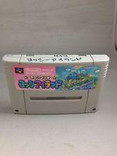 Super Mario World 2 Yoshi's Island Nintendo Super Famicom FROM JAPAN SFC SNES